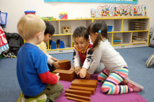childrens activity at culver city montessori