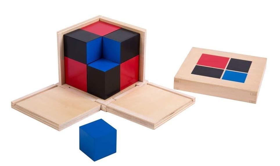 sensorial binomial cube